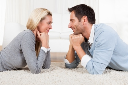 content couple